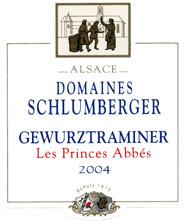 Gewurztraminer Les Princes Abbés 2004