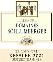 Gewurztraminer Grand Cru Kessler 2001