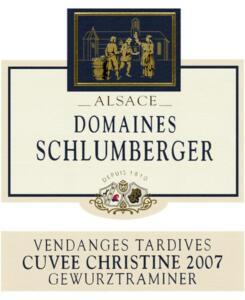 Gewurztraminer Vendange tardive cuvée Christine 2007