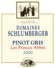 Pinot Gris Prince Abbés 2000