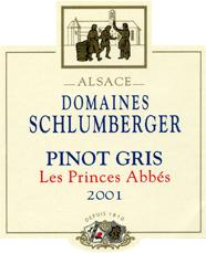 Pinot Gris Prince Abbés 2001