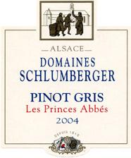 Pinot Gris Prince Abbés 2004