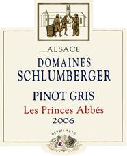Pinot Gris Prince Abbés 2006