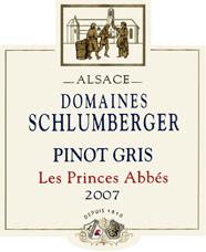 Pinot Gris Prince Abbés 2007