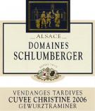 Cuvee Christine Gewurztraminer Vendanges Tardives