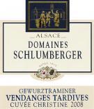 Gewurztraminer Cuvée Christine Vendanges Tardives 2008