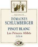Pinot Blanc Les Princes Abbés 2014