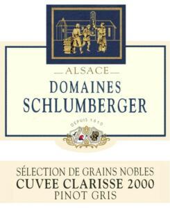 Pinot Gris Cuvée Clarisse 2000