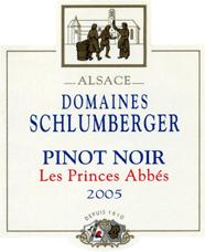 Pinot Noir Les Princes Abbés 2005