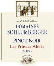 Pinot Noir Les Princes Abbés 2008