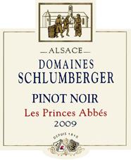 Pinot Noir Les Princes Abbés 2009
