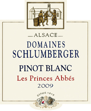 Pinot Blanc Les Princes Abbés 2009