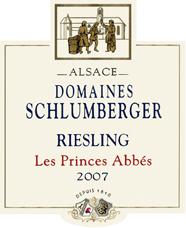 Riesling Les Princes Abbés 2007