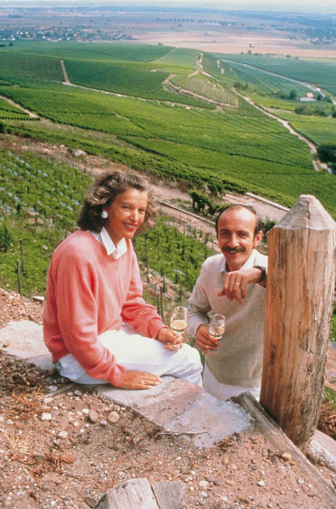 Eric et Eveline Beydon Schlumberger