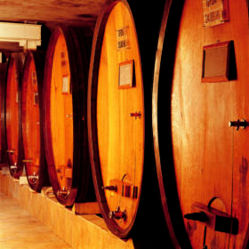 Cave foudre Domaines Schlumberger Alsace