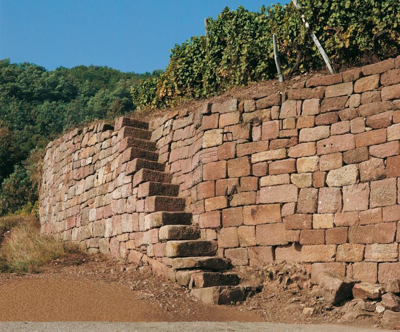 Murs Domaines Schlumberger Alsace