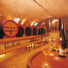 Cave caveau Domaines Schlumberger Alsace