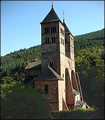 Histoire Abbaye Murbach Schlumberger Vin Alsace