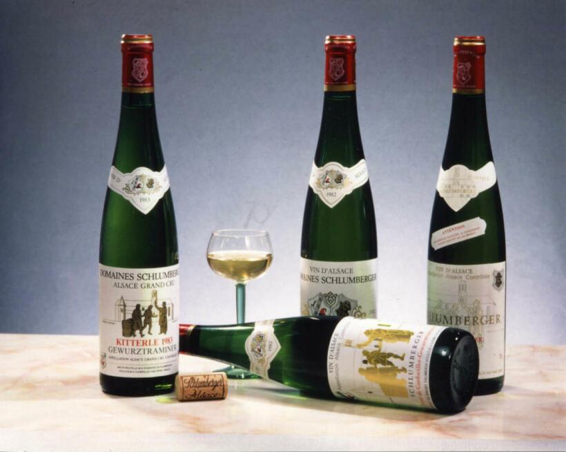 Histoire viticole Schlumberger Vin Alsace