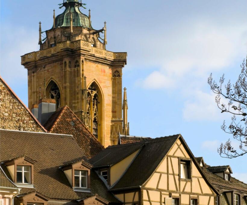 Histoire Colmar Schlumberger vin Alsace